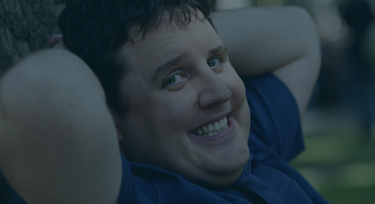 COMEDIAN PETER KAY WHO IS ON HIS WAY TO THE EDINBURGH FESTIVAL FOR S2 SECTION - 2002