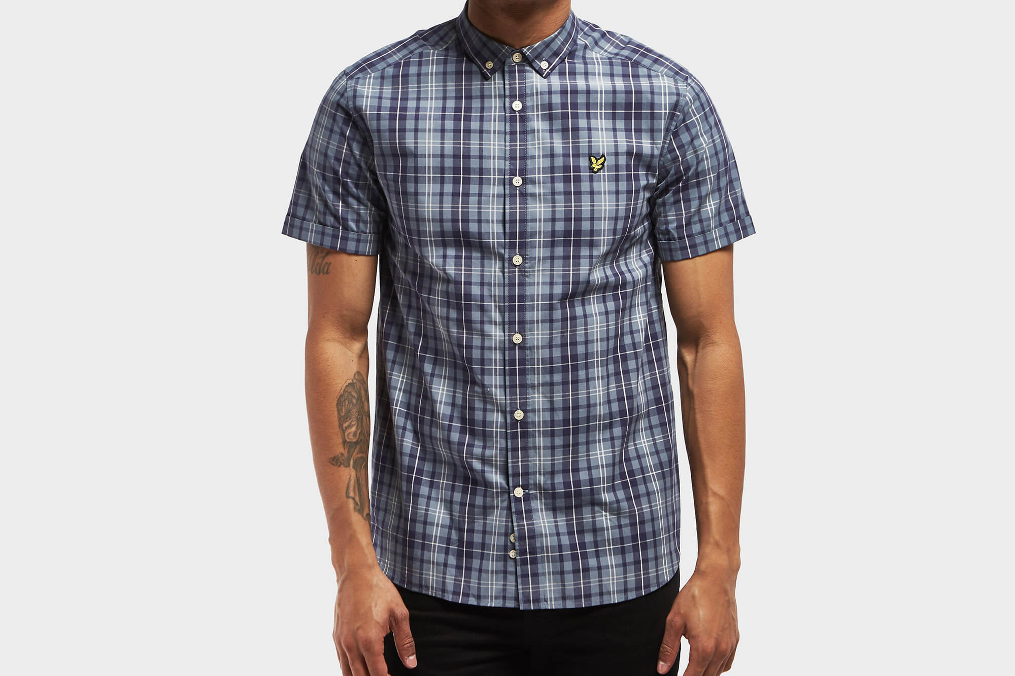 Lyle & Scott Short Sleeved Check Shirt